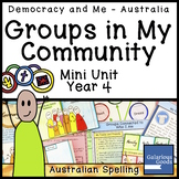 Groups in Our Community (Year 4 HASS)