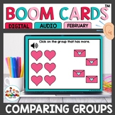 Groups of More or Less Boom Cards