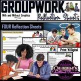 Groupwork Reflection Sheets (4)