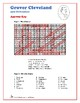 Grover Cleveland, 24th US President - Word Search and Fill in the Blanks