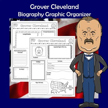 Grover Cleveland President Biography Research Graphic Organizer