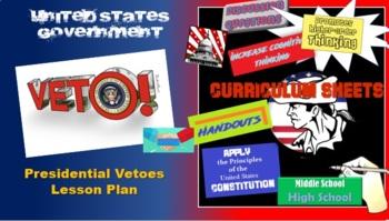 Veto this! Executive vetoes activity