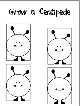 Grow A Centipede [Practice Reading r-Controlled Vowels]