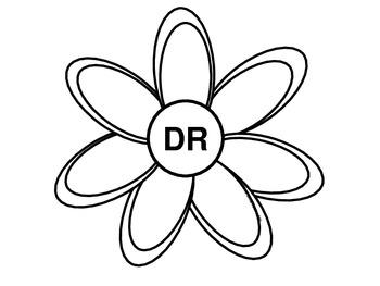Grow A Flower- Blends and Digraphs Craftivity