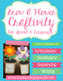 Flower Life Cycle Craft for Speech Therapy