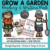 Spring Reading Comprehension Posters & Writing Pack
