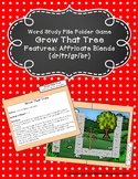 Grow That Tree File Folder Game (Affricate Blends - dr/tr/gr/br)
