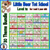 Grow With Me Tot School - Little Bears - 30 Theme Bundle -