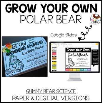 Grow Your Own Polar Bear Science Experiment
