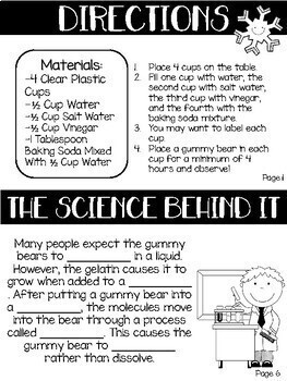 Grow Your Own Polar Bear Science Experiment Using Scientific Method