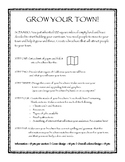 Grow Your Town - California Region Brochure Project/Rubric