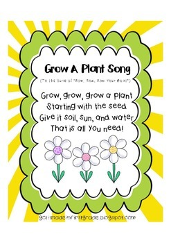 Grow a Plant Song