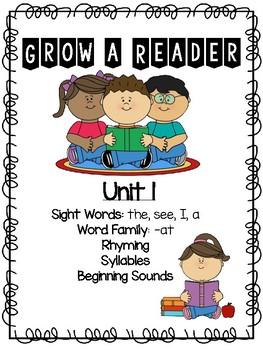 Grow a Reader Unit 1
