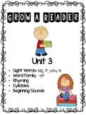 Grow a Reader Unit 3