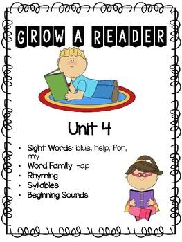 Grow a Reader Unit 4
