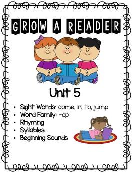 Grow a Reader Unit 5