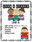 Grow a Reader Unit 6