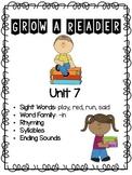 Grow a Reader Unit 7