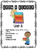 Grow a Reader Unit 8