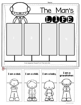 Grow and Change Timelines} for Kindergarten and First Grade - Bundle