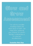 Grow and Glow Assessment Sheet