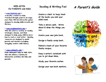 Grow your very own Reader and Writer Brochure