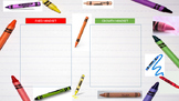 Growth Mindset Sort: The Day the Crayons Quit Activity