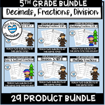 Math Worksheets 5th Grade Fun Growing Bundle