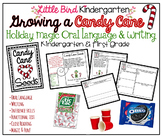 Growing A Candy Cane Holiday Magic Oral Language & Writing Activity