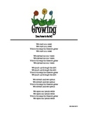 Growing: A Flower Song