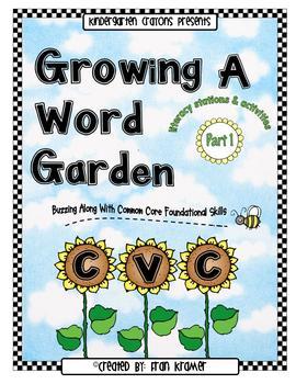 Growing A Word Garden (CVC Words) :Part 1