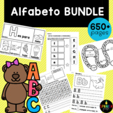 Growing Alphabet Bundle in Spanish (Alfabeto / Abecedario)