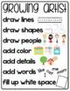 Artist Writing Workshop Anchor Chart