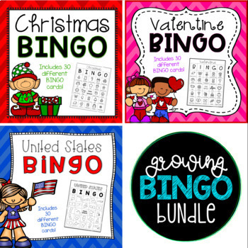 Growing BINGO Bundle