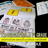 Science Interactive Notebook: Kindergarten Science / First Grade Science