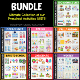 Growing BUNDLE of Preschool Units (Math and Literacy Centers)