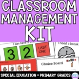 Behavior Basics/Visual Supports for PRIMARY and SPED Classrooms - Full Bundle