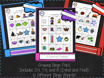 Growing Bingo Bundle (R-TH-SH)