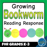 Growing Bookworm Reading Response Sheets and Classroom Display