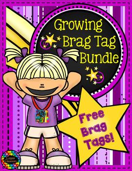 Growing Brag Tag Bundle Samples Free