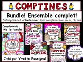 Bundle, 5 comptines et activités pour les sons ou, an, ai, ch, au/eau