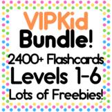 VIPKid Printable Vocabulary Flashcards NMC Level 1 2 3 4 5 6 MC Level 1 2 ESL