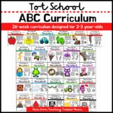 Bundle: Alphabet Curriculum for 2-3 Year-Olds (Letter A-Z)