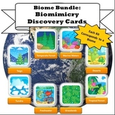 Biome Bundle: Biomimicry Discovery Cards Kits (Buy in bulk