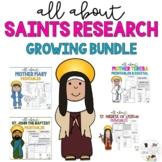 Growing Bundle Catholic Saints Research - All Saints Day