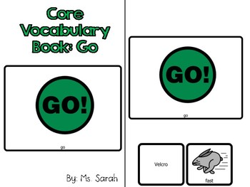 Growing Bundle-Core Vocabulary Adapted Books!