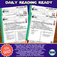 Growing Bundle ~ 5th Grade DAILY READING READY ~ Full Year Daily Reading Review