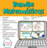 Growing Bundle Matemáticas Quinto Grado