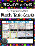 Growing Bundle Math Task Cards