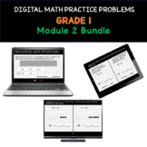 Distance Learning Bundle | Grade 1 Math Practice: Module 2